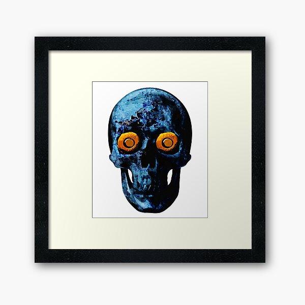 Deadly Stare Framed Art Print