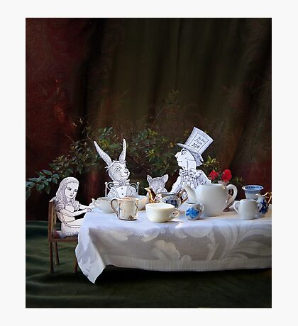 Alice in Wonderland/The Tea Party Photographic Print