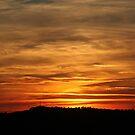 Burning Sunset by Alex  Motley