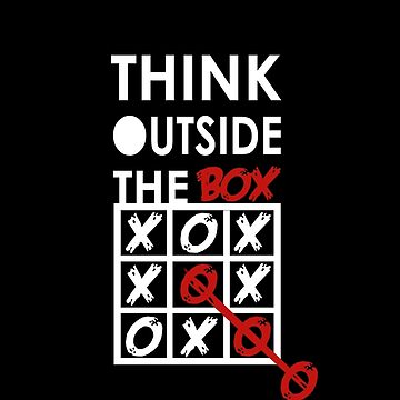 Think outside of the box by whitedesigner