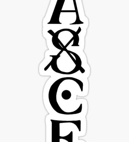 Portgas D. Ace Sticker