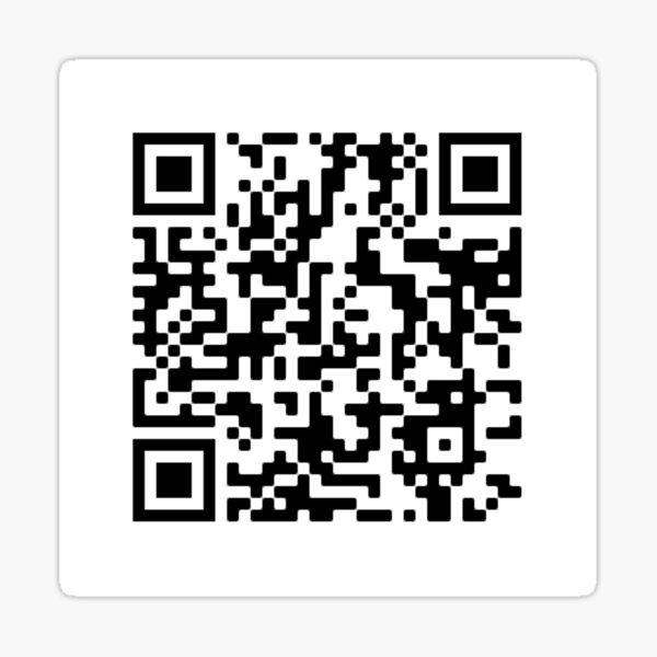 QR code for the song GeorgeNotFound only fans by Weston Koury (cJerk) Sticker