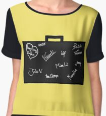Pulp Fiction Women's Chiffon Top