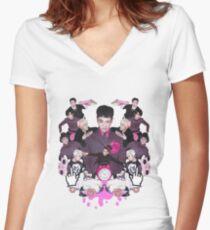 Block B Women's Fitted V-Neck T-Shirt