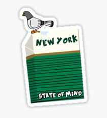 New York State of Mind Cigs... Sticker