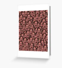 Dwight Schrute - The Office (U.S.) Greeting Card