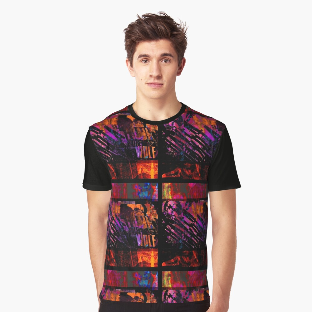 On the Trail of the Wolf by Frank Louis Allen Graphic T-Shirt