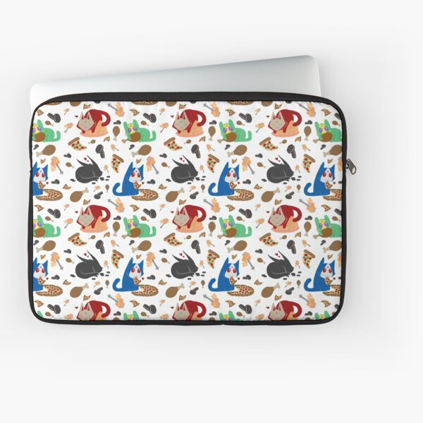 Nyamen Rider Snacks Laptop Sleeve