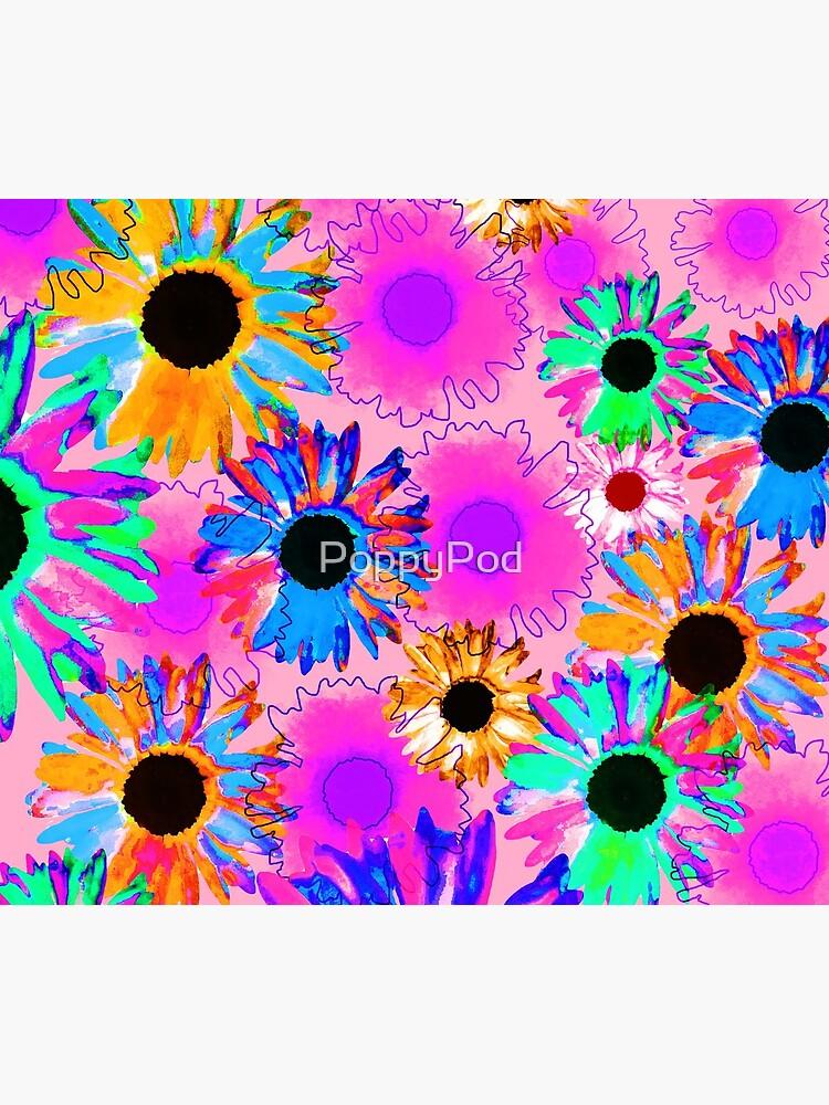 Wildflower - Bright Pink by PoppyPod