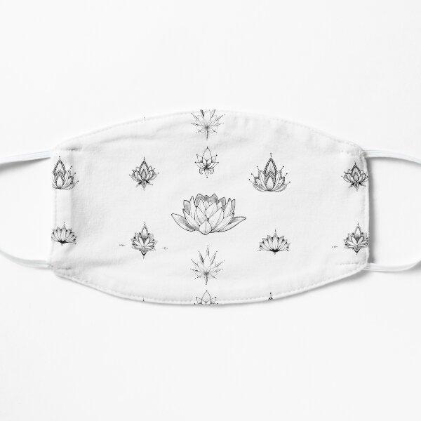 Lotus Stickers - PACK (7) Flat Mask