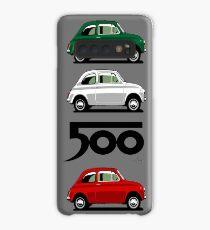 Seitenansicht des Fiat 500 Hülle & Klebefolie für Samsung Galaxy