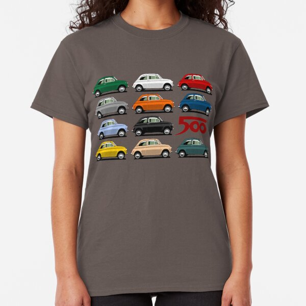Fiat 500 side view Classic T-Shirt