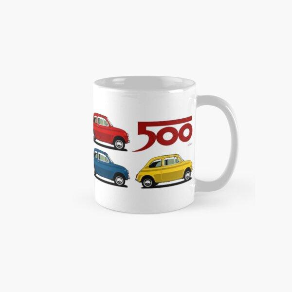 Fiat 500 side view Classic Mug