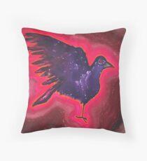 Baby Phoenix original painting Throw Pillow