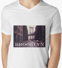 Brooklyn Men's V-Neck T-Shirt