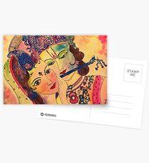 Radha-Krishna Postcards