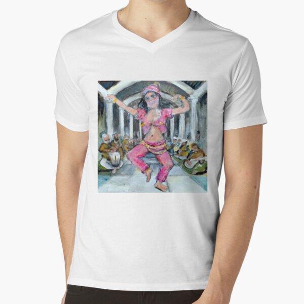 Belly Dancer V-Neck T-Shirt