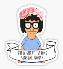 Tina Smart, Strong, & Sensual Sticker