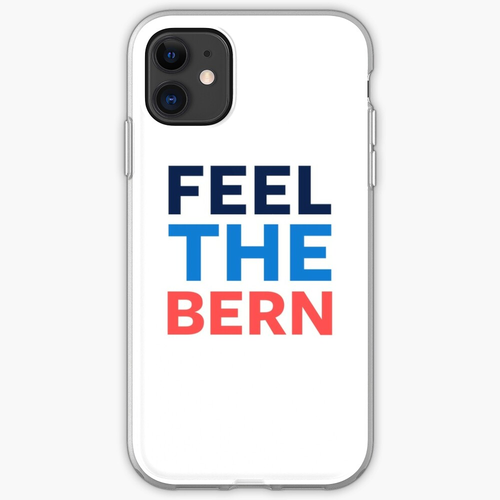 Feel the Bern. iPhone Case & Cover