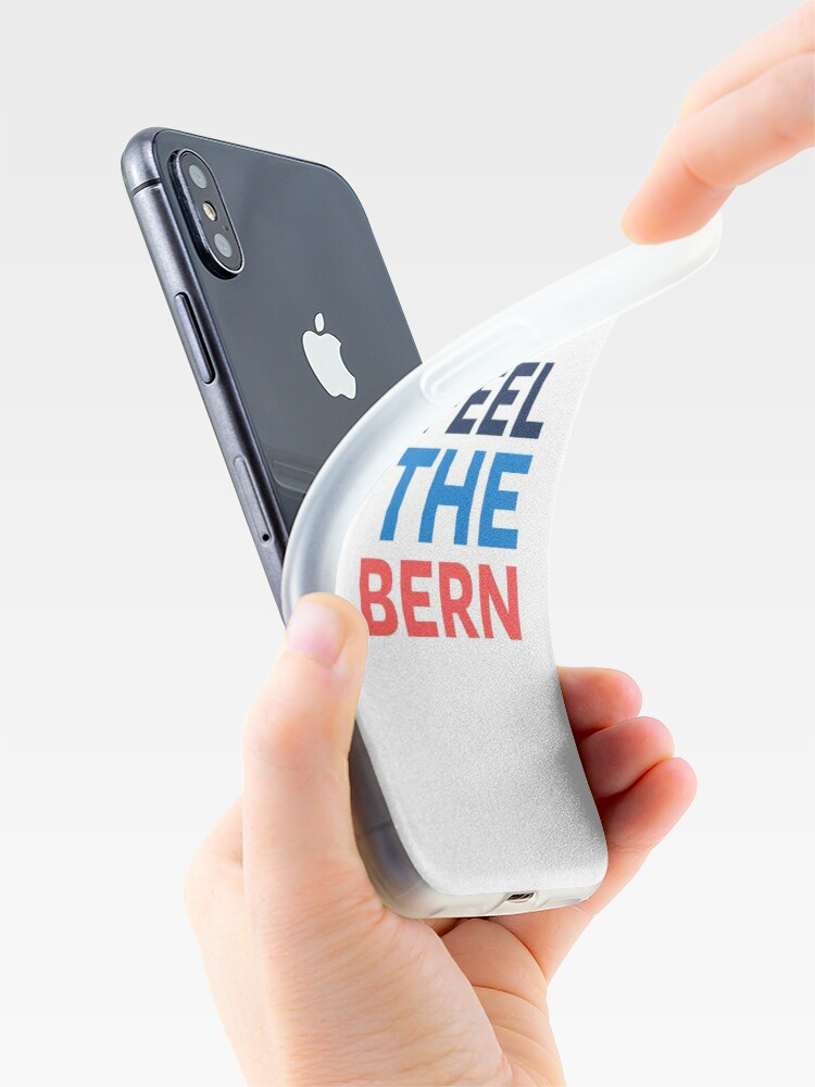 Alternate view of Feel the Bern. iPhone Case & Cover