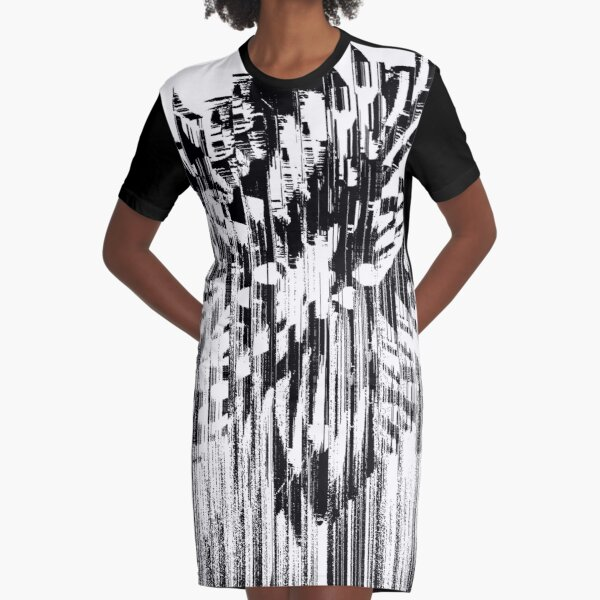 MELTED Graphic T-Shirt Dress