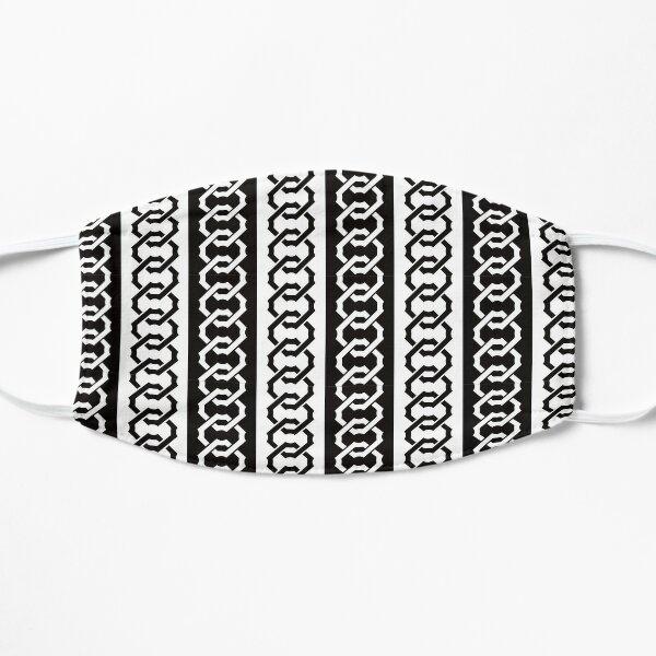 Japanese traditional pattern :: Yoshiwara-Tsunagi (Yoshiwara style chain) Flat Mask