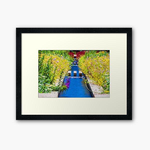 Spring Garden #3 Framed Art Print