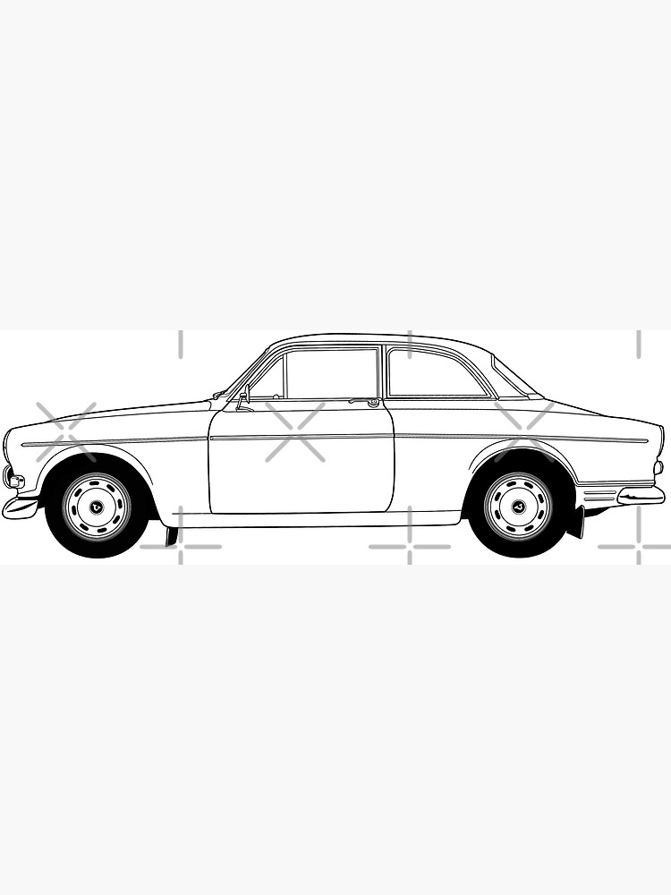 Volvo Amazon by thedrumstick