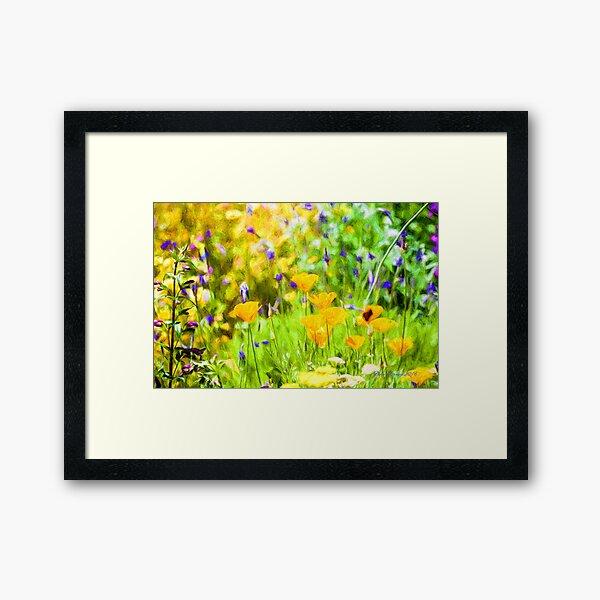 Spring Garden #4 Framed Art Print