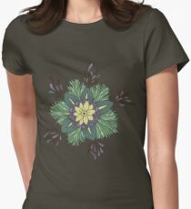 Sea Blossom Women's Fitted T-Shirt