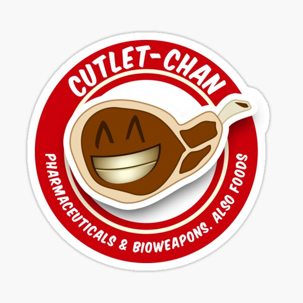 Cutlet-Chan Co.  Sticker