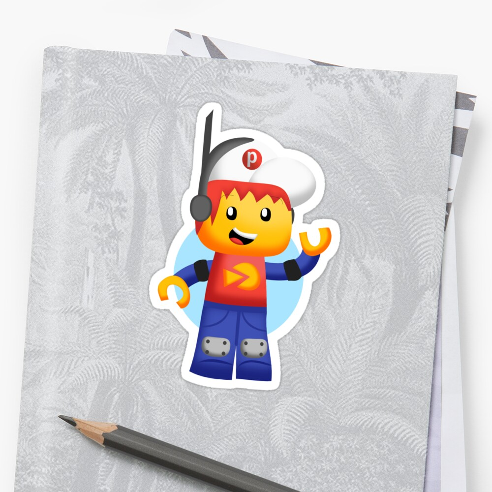 Pepper Roni Sticker