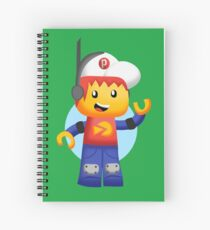 Pepper Roni Spiral Notebook