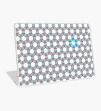 Tiling Tessellation In Green, Blue & Pink Laptop Skin