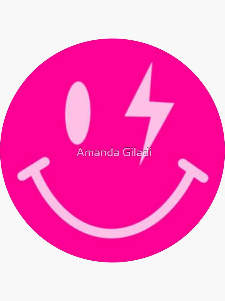 Lightning Bolt Smiley Face by amandagiladi