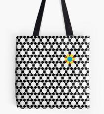 Black & White Tessellation Pattern Tote Bag