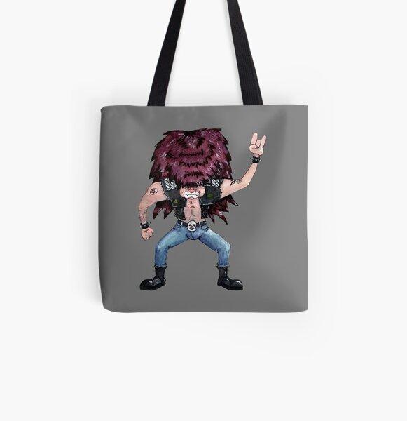 Metal Dude All Over Print Tote Bag
