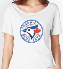 Toronto Blue Jays logo Women's Relaxed Fit T-Shirt