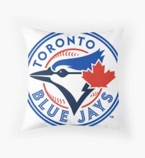 Toronto Blue Jays logo Throw Pillow