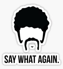 Say What Again - Pulp Fiction Sticker