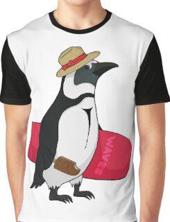 Surfing bird Graphic T-Shirt