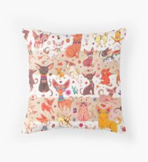 Ancient Chihuahuas Throw Pillow