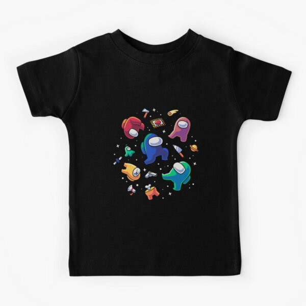 Impostors in Space // Among Us Crewmates Kids T-Shirt