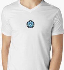 Camiseta para hombre de cuello en v Reactor de arco