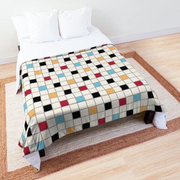 We LOVE the 80s - VINTAGE grid pattern Comforter