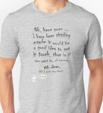 Love message, Hi, Hello. T-Shirt