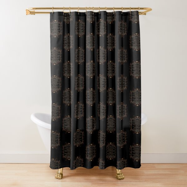 Leave a Little Reputation - Tallulah Shower Curtain