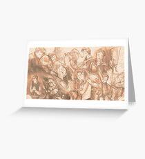 Art compilation banner (2013-2014) Greeting Card