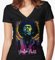 Voodoo Child Women's Fitted V-Neck T-Shirt