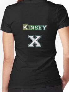 Kinsey Scale X Women's Fitted V-Neck T-Shirt